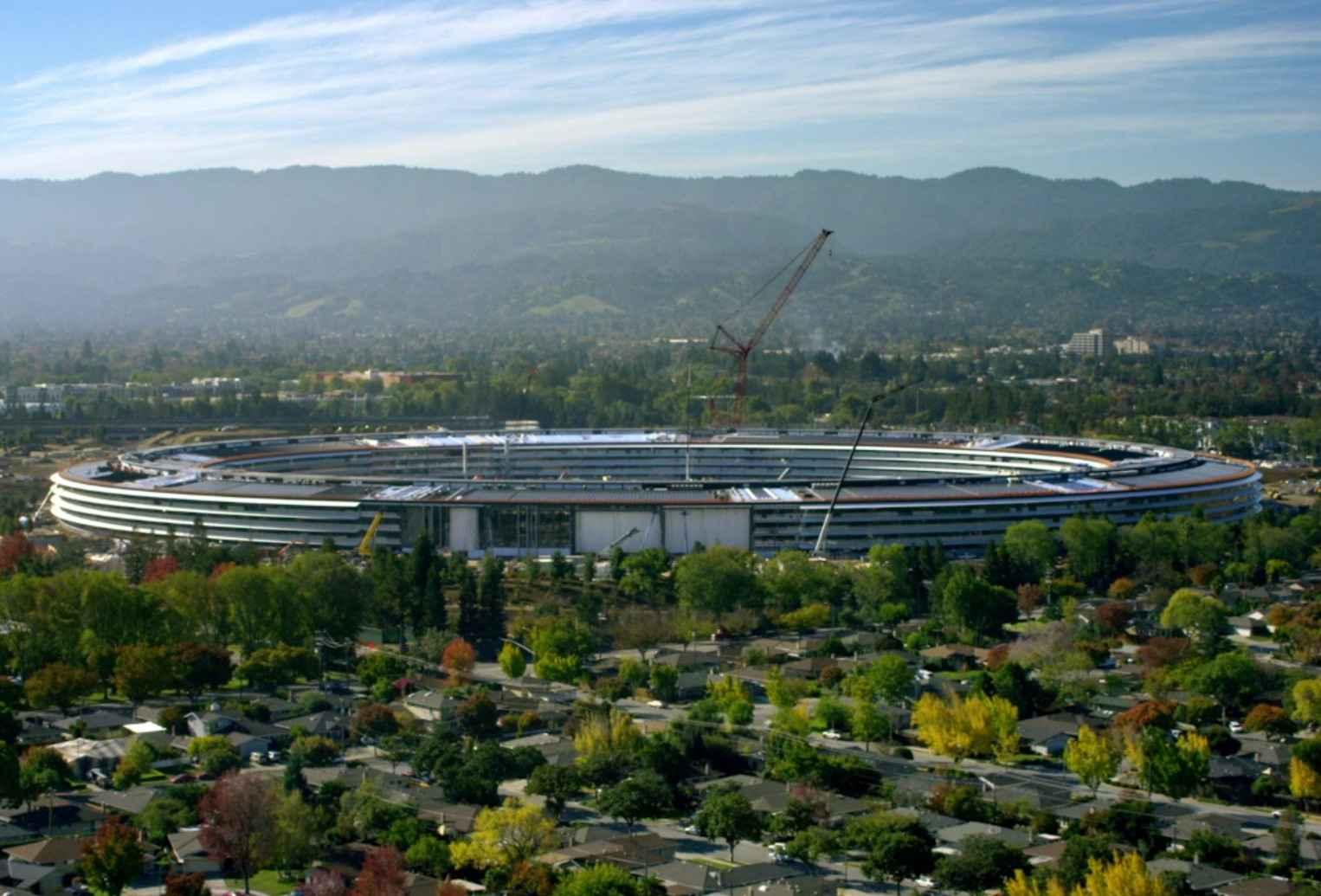 Le nouveau campus circulaire ouvrira ses portes en avril — Apple Park
