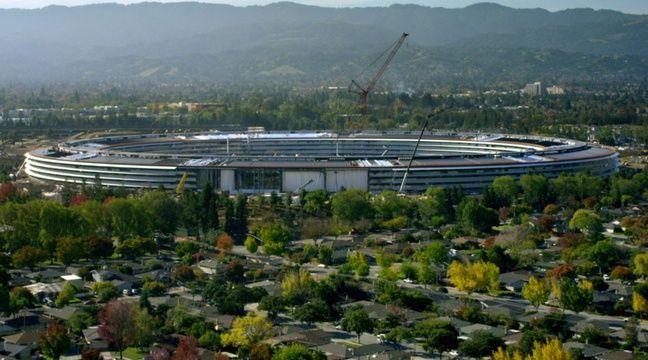VDIEO. Le grand déménagement d'Apple vers son «vaisseau spatial» commencera en avril