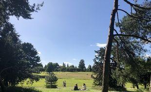 Le parc du Grand Blottereau à Nantes. (illustration)