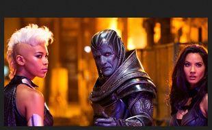 Au centre, le nouveau mutant invincible de «X-men: Apocalypse» de Bryan Singer