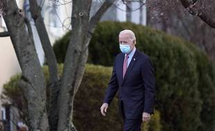 Joe Biden, à Wilmington le 16 janvier 2021.