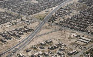 Vue aérienne de Bagdad (image d'illustration).