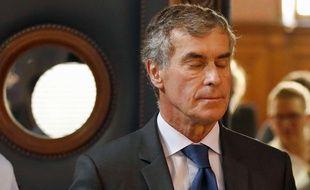 Jerome Cahuzac à Paris le 14 septembre 2016