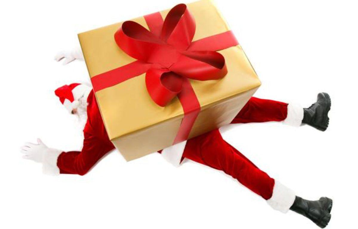 La chute de cadeaux n'est pas ce qui menace le plus le Père Noël. – SUPERSTOCK/SIPA