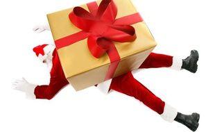 La chute de cadeaux n'est pas ce qui menace le plus le Père Noël.