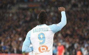 Mario Balotelli a marqué son cinquième but, en sept matchs à l'OM.
