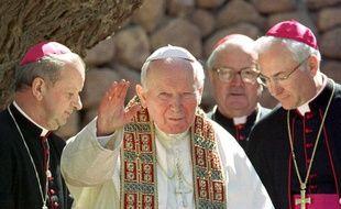 Le pape Jean-Paul II en Egypte, le 16 avril 2003