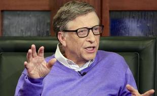 Le milliardaire Bill Gates en mai 2015.