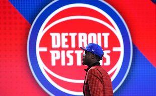 Sekou Doumbouya a été drafté en 15e position par les Pistons de Detroit, le 20 juin 2019.