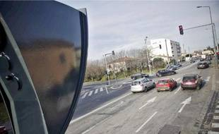 Le radar flashe dans le sens boulevard de l'Embouchure-Minimes.