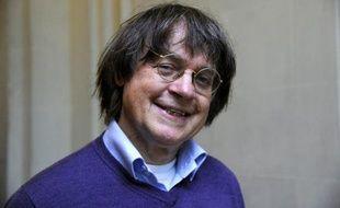 Le dessinateur Cabu à Paris, le 12 octobre 2012