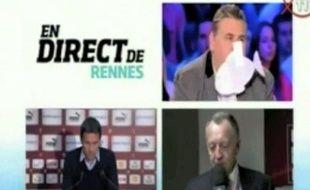 Capture d'écran du Canal Football club du 1er avril 2012, sur Canal+.
