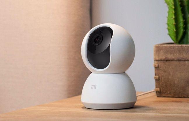 La caméra de surveillance connectée Xiamo, l'une des moins chères du marché.