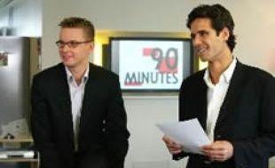 Paul Moreira lorsqu'il présentait l'émission 90 minutes sur Canal +