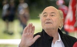 Blatter est au coeur d'un scandale de corruption.