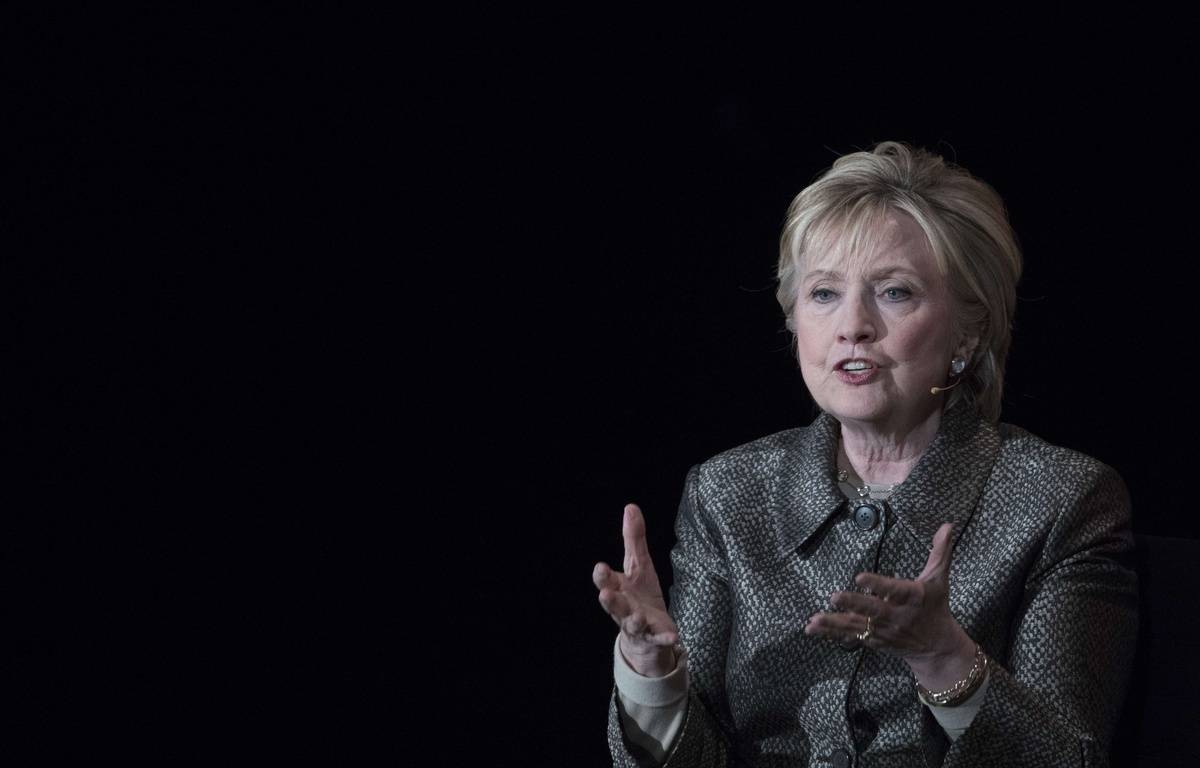 Hillary Clinton à New York, le 6 avril 2017. – Mary Altaffer/AP/SIPA