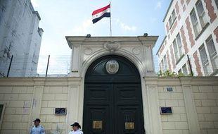 L'ambassade syrienne à Paris.