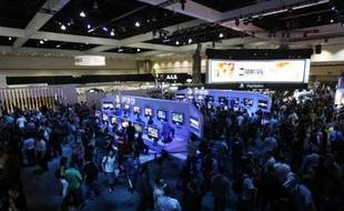 Le Convention Center de Los Angeles pour l'E3, le 3 juin 2009