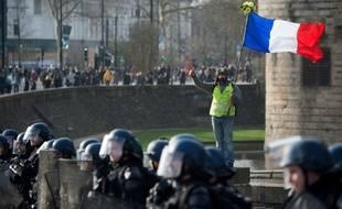 La manifestation des gilets jaunes samedi 11 janvier à Nantes.