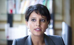 Najat Vallaud-Belkacem, ministre des Droits des femmes, porte-parole du Gouvernement,
