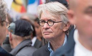 Le secrétaire général de FO Jean-Claude Mally le 26 mai 2016