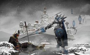 Concept art de la série japonaise «Nobunaga the Fool» (2014).