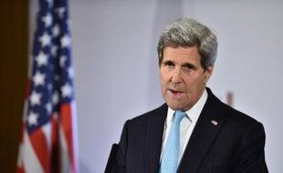 Le secrétaire d'Etat américain John Kerry le 4 décembre 2014 à Londres