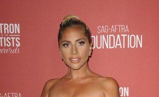 L'actrice et chanteuse Lady Gaga au 3e Patron of the Artist Awards à Los Angeles