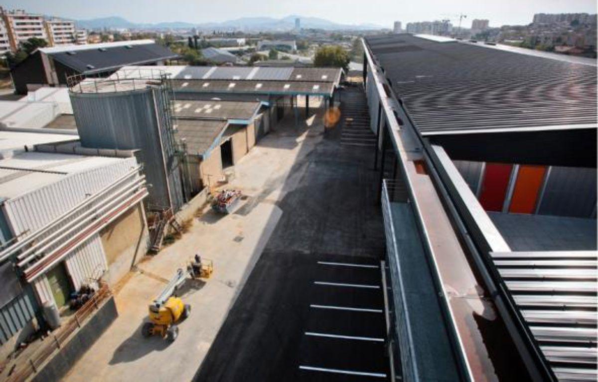 La première tranche de travaux à la Cité doit s'achever dans quelques semaines. –  P.MAGNIEN / 20 MINUTES