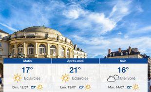Météo Rennes: Prévisions du samedi 11 juillet 2020