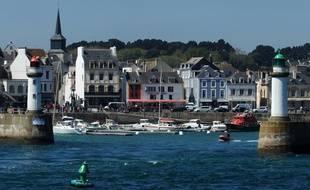 Le port du Palais, à Belle-Ile, dans le Morbihan.