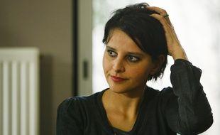 Najat Vallaud-Belkacem,  Le 20 février 2012. CYRIL VILLEMAIN/20 MINUTES