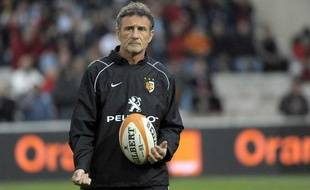 L'entraîneur toulousain Guy Novès, en mai 2010.