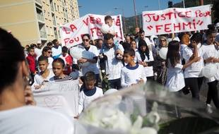 Près de 300 personnes ont participé à la marche blanche