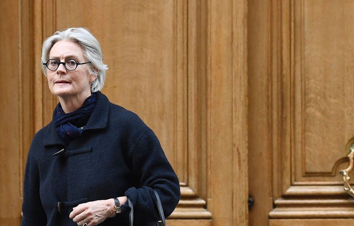 Penelope Fillon, 27/03/2017 à Paris. AFP PHOTO / Lionel BONAVENTURE – AFP