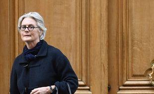 Penelope Fillon, 27/03/2017 à Paris. AFP PHOTO / Lionel BONAVENTURE