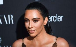 Kim Kardashian à la soirée Harper's Bazaar lors de la Fashion Week de New York