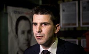 Le socialiste Mathieu Hanotin (PS) est le premier maire non-communisté élu à Saint-Denis depuis 1944. (Archives)