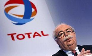 Le PDG de Total, Christophe de Margerie, à Paris le 11 février 2011.