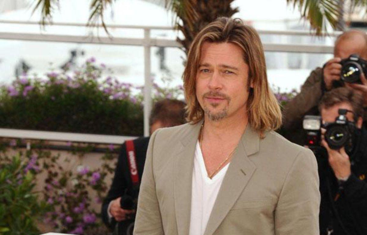 Brad Pitt pendant le photocall du film «Killing Them Softly» au 65e festival de Cannes, le 22 mai 2012.  – David Fisher / REX / SIPA