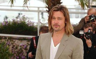 Brad Pitt pendant le photocall du film «Killing Them Softly» au 65e festival de Cannes, le 22 mai 2012.