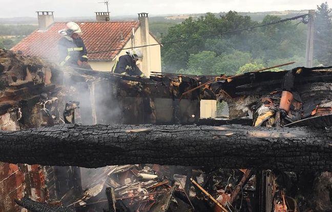 Toulouse: Ils intervenaient sur une maison en feu, deux pompiers blessés par l'effondrement d'un plafond