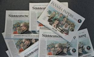 """Les Unes des journaux du 4 avril 2016 avec les révélations des """"Panama Papers"""""""