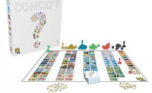 «Concept», jeu de société élu «As d'or - jeu de l'année» en 2014.