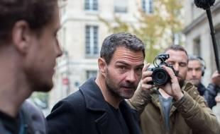 Jérôme Kerviel le 15 octobre 2015 devant le tribunal administratif de Paris.