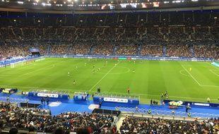 Le Stade de France, samedi soir