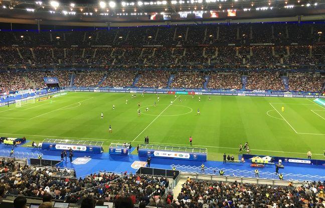France-Albanie: Hymne d'Andorre bourde du speaker... Les Albanais pas gâtés avant le match