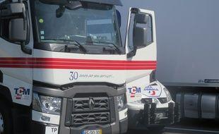 Illustration d'un camion.