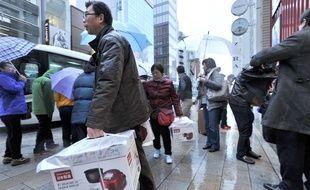 Des touristes chinois à Tokyo (illustration).
