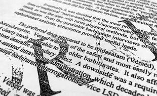 Extrait du rapport déclassifié de la CIA sur la prise de drogues des prisonniers.